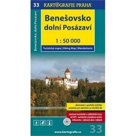 Benešovsko Dolní Posázaví 1:50 000