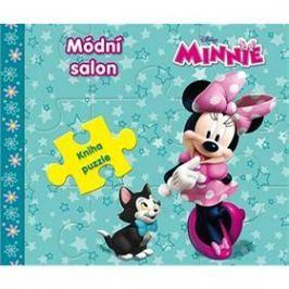 Minnie Módní salon: Kniha puzzle