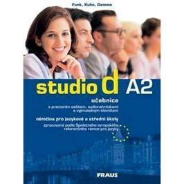 Studio d A2: Němčina pro JŠ a SŠ, učebnice + CD