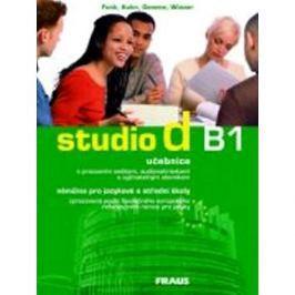 studio d B1: Němčina pro JŠ a SŠ, učebnice + CD