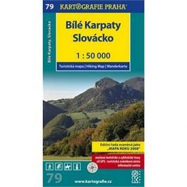 Bílé Karpaty 1:50 000: turistická mapa