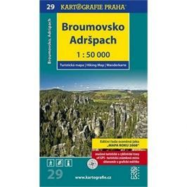 Broumovsko, Adršpach 1:50 000: turistická mapa