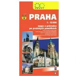 Praha: 1:12.500 mapa a průvodce po pražských památkách
