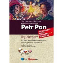 Petr Pan: Dvojjazyčná kniha pro mírně pokročilé