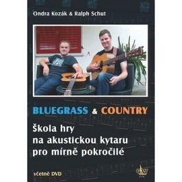 Bluegrass & Country: Škola hry na akustickou kytaru pro mírně pokročilé