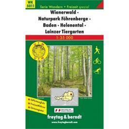 5011 Wienerwald 1:35 000: Turistikcá mapa