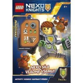 LEGO NEXO KNIGHTS NEXO síla vládne všemu!: Obsahuje minifigurku