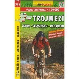 Trojmezí Česko-Slovensko-Rakousko cyklomapa 1:50 000: 501
