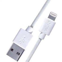 PremiumCord Lightning MFI 2m bílý