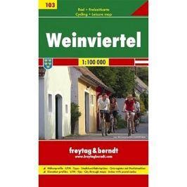 Cyklomapa Weinviertel 1:100 000