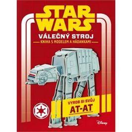 Star Wars Válečný stroj Kniha s modelem a hádankami
