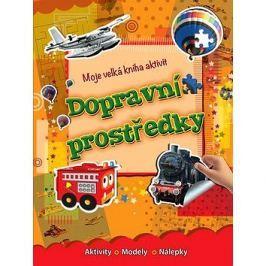 Moje velká kniha aktivit Dopravní prostrědky