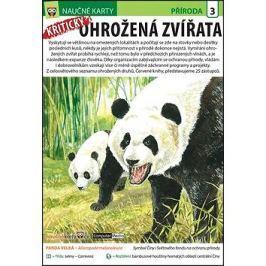 Naučné karty Kriticky ohrožená zvířata