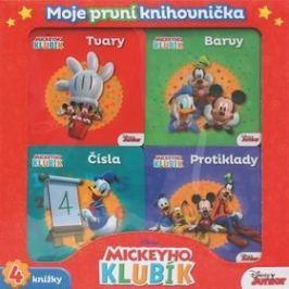 Mickeyho klubík Moje první knihovnička: Tvary, barvy, Čísla, Protiklady