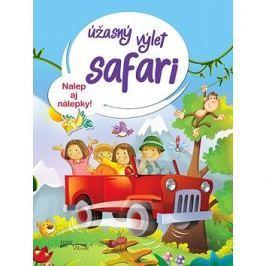Úžasný výlet safari: Nalep aj nálepky!