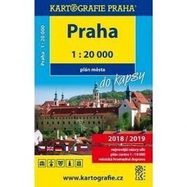 Praha do kapsy 1:20 000: Plán města