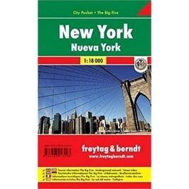 New York 1:18 000: Kapesní plán města