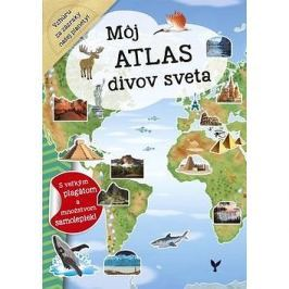 Môj atlas divov sveta: s velkým plagátom a množstvom samolepiek