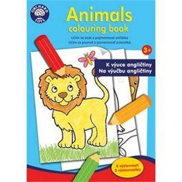 Animals colouring book: K výuce angličtiny 3+