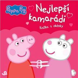 Peppa Pig Nejlepší kamarádi: Knížka s okénky