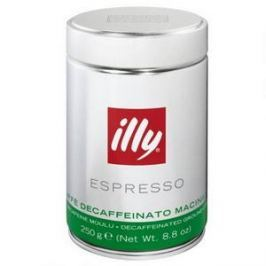 ILLY Decaffeinated, mletá, 250g