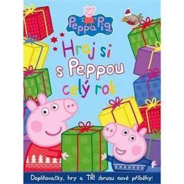 Peppa Pig Hraj si s Peppou celý rok: Doplňopvačky, hry a Tři zbrusu nové příběhy!