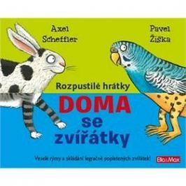 Rozpustilé hrátky Doma se zvířátky: Veselé rýmy a skládání legračně popletených zviřátek!
