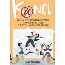 Kancl: Román o arogantních šéfech, pracovních obědech a zatoulaných kalhotkách