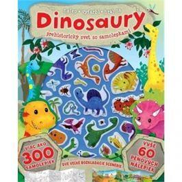 Dinosaury Prehistorický svet so samolepkami