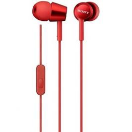 Sony MDR-EX155AP, červená