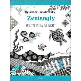 Relaxační omalovánky Zentangly: Kreativní kresba pro všechny