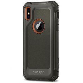 Spigen Pro Guard Army Green iPhone X