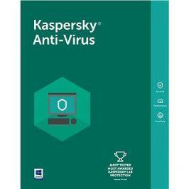 Kaspersky Anti-Virus 2018 pro 1 PC na 24 měsíců (elektronická licence)