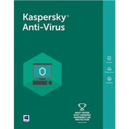 Kaspersky Anti-Virus 2018 pro 5 PC na 12 měsíců (elektronická licence)