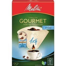 Melitta káva 1x4/80 Gourmet MILD Filtry do kávovarů