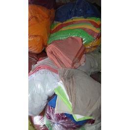Textilní odřezky - Froté MIX