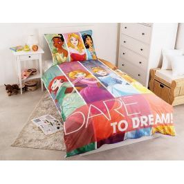 Faro Povlečení Princezny sní bavlna 140x200, 70x90