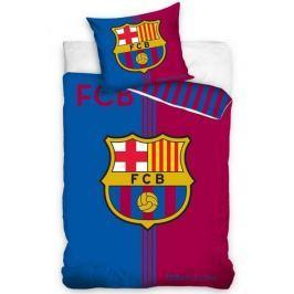 Carbotex FC Barcelona Erb bavlna 140 x 200, 70 x 80 cm zipový uzávěr