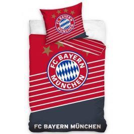 Carbotex Povlečení Bayern Mnichov stripes 140x200 70x80