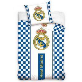 CARBOTEX povlečení Real Madrid kostky bavlna 140x200 70x80