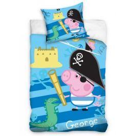 Carbotex povlečení Peppa Pig George pirát 140x200 70x80