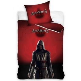Carbotex Povlečení Assassin's Creed Vínová bavlna 140x200 70x80