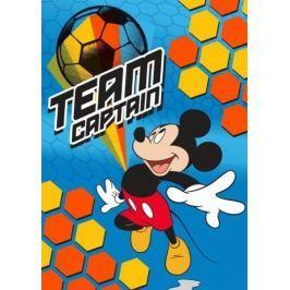 Dětská licenční deka Mickey kapitán týmu 80x110