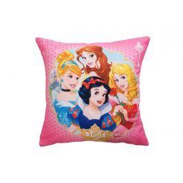 Dekorační polštářek Princezny růžová 40x40