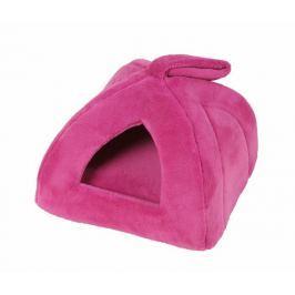 Domeček pro psy a kočky Iglú růžová 40x40