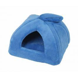 Domeček pro zvířecí mazlíčky Iglú modrá 45x45