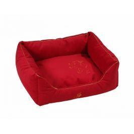 Zvířecí luxusní pelíšek Royal červená 70x100