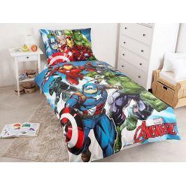 Jerry Fabrics Povlečení Avengers 002 Bavlna 140x200 70x90