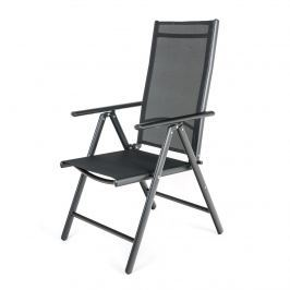 HAPPY GREEN Židle polohovací RAMADA 56,5 x 42,5 x 107 cm, černá