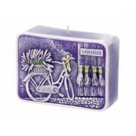Dekorativní svíčka Bartek Candles Lavender Kiss - Fialová 195 g